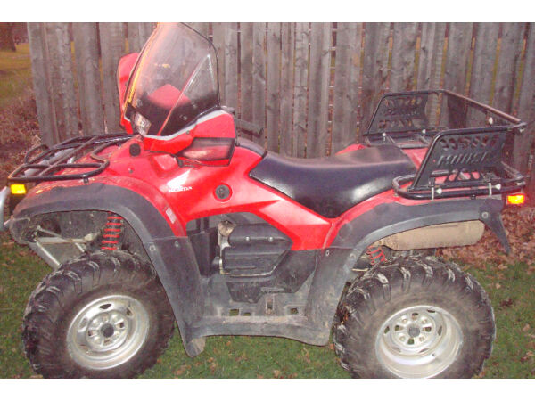 Used 2009 Honda rubicon 500