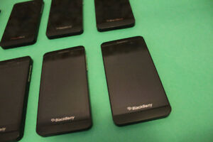 4 - BlackBerry Z10 (Unlocked, 16GB) $50 Each