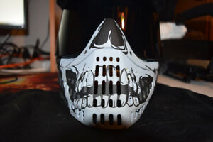 EMPIRE E-FLEX PAINTBALL MASK - SKULL new price