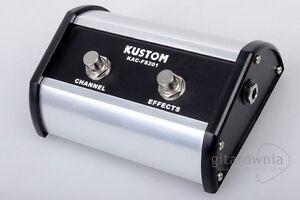 KUSTOM KAC-FS201 Footswitch
