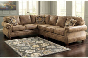 3 PIECE SECTIONAL $169.99/MONTH