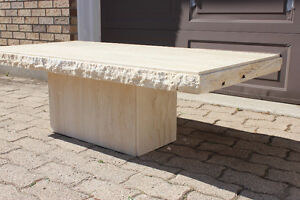 Matching stone coffee table and end table London Ontario image 7