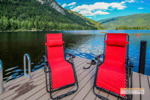 East Barriere Lake Waterfront Lot