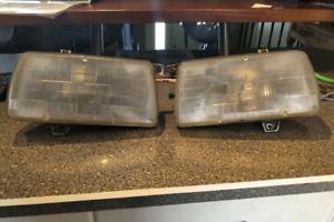Mark 2 Volkswagen Jetta glass headlight assembly