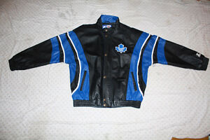 NHL Maple Leaf's Leather Jacket