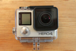 GoPro Hero 4 silver new condition