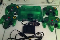 nintendo 64 jungle green 4 manette original wow