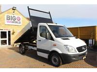 2012 MERCEDES SPRINTER 313 CDI MWB SINGLE CAB ALLOY TIPPER TIPPER DIESEL
