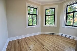 In the heart of Westmount-Near Greene Avenue-renovated 5 ½