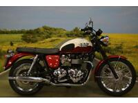 Triumph Bonneville T100 2013 **7205 MILES, RETRO STYLING, TWO TONE PAINT **