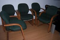 6 Waiting Room Chairs / Reception area  chairs