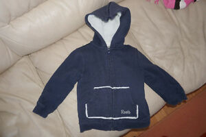 Roots Zipped Hoodie Spring Jacket - Excellent Condition - Size 3