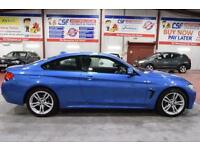 2014 14 BMW 4 SERIES 2.0 420D XDRIVE M SPORT 2D 181 BHP DIESEL