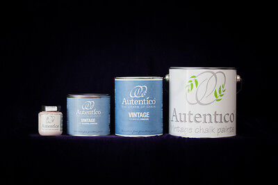Autentico Vintage Chalk Paint For Furniture - Brights and Darks 100ml and 500ml