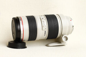 MINT Canon EF 70-200mm L f2.8 USM version 1 non IS, other lenses