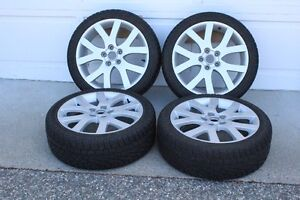 Set of 4 18 inch Mazda 6 alloy wheels Pirelli All-Weather tires