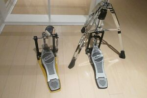 Mapex Hi Hat Stand and Bass Drum Pedal - MINT Kitchener / Waterloo Kitchener Area image 2