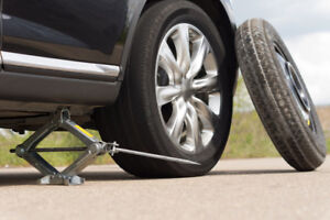 Flat Tire/Battery Jump Start/ & Gas Delivery roadside assistance