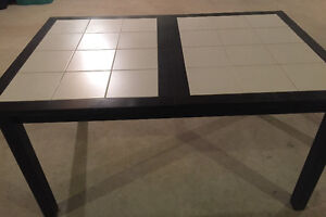 Modern Black and White dining table from Denmark!