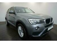 2016 GREY BMW X3 2.0 XDRIVE20D SE DIESEL AUTO ESTATE CAR FINANCE FR £305 PCM