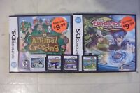 FOR SALE N. DS ANIMAL XING.& BEYBLADE,MF,N.DS. 3. POKEM.X