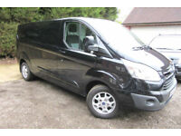 FORD TRANSIT CUSTOM 2.2TDCi 125PS 2014/64 290 L2H1 LIMITED LWB ONLY 40K MILES