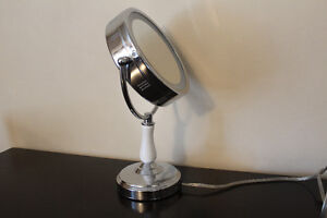 Dimmable Touch LED Lighted Makeup Mirror with Magnification