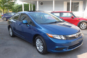 2012 Honda Civic EX Automatique 75 000 km