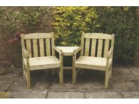 Tiverton Companion Bench - free delivery across NI