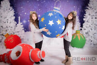 Christmas Mini Session - BEST DECORATIONS IN TOWN