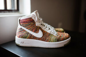 "Nike Air Force 1 Ultra Flyknit ""Multicolor"" - Size 9"