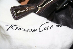 Genuine Preowned Kenneth Cole Handbag + Original Dust Cover