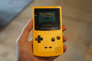Game Boy Color Yellow Near Mint