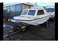 16ft Wilson flyer dory boat fishing project
