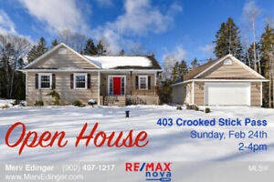 OPEN HOUSES   Sunday, Feb 24th   Join RE/MAX® to tour....