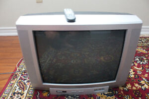 "Free TV- 21"" Toshiba Color TV"