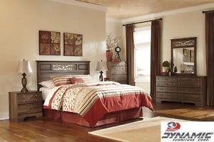 Brand New Allymore 3 Piece Queen Bedroom! Call 902-481-9105!