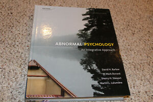 Abnormal Psychology: An Integrative Approach 4th Canadian Editio
