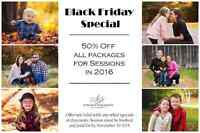 BLACK FRIDAY SPECIAL 50% OFF!