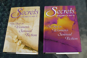 THE BEST IN WOMEN'S SENSUAL FICTION ( $ 8.00 FOR 2 BOOKS )