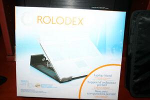 Support pour ordinateur portable Rolodex