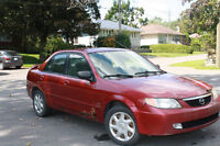 Mazda Protégé 2002 automatique.