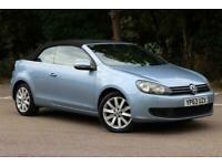 2013 Volkswagen Golf 2.0 SE TDI BLUEMOTION TECHNOLOGY 2d 139 BHP Convertible Die