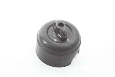 Age Turn Bakelite Rig-Out Art Deco Loft Toggle Switch