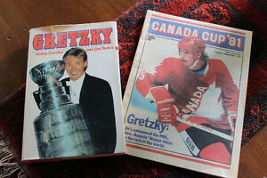 Gretzky book and Magazine package
