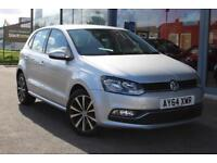 2014 VOLKSWAGEN POLO 1.4 TDI SE GBP0 TAX, 16andquot; ALLOYS, DAB and B TOOTH