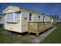 8 Berth Caravan For Hire PRICES START FROM £275..Golden Palm resort in Chapel St.Leonards