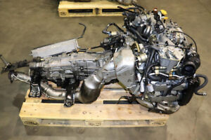 JDM 02-05 Subaru WRX EJ205 AVCS Turbo Engine 5 Speed M/T 4.44FD