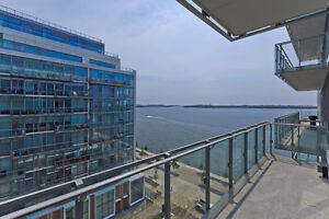 1408 sq ft Condo on Toronto Waterfront 26 ft Balcony Move in!!