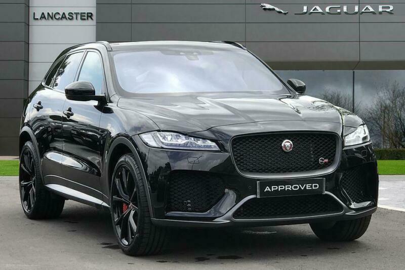 2019 Jaguar F Pace Svr Awd Petrol Black Automatic In Tonbridge Kent Gumtree